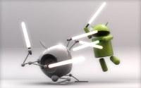 Android nagusitasun absolutua mugikorren merkatuan