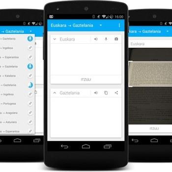 Mitzuli: Androiderako itzultzaile librea