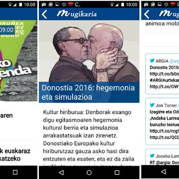 Mugikaria, albisteen jarraipenerako app euskalduna